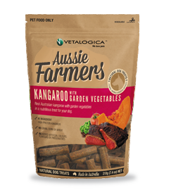 Aussie Farmers - Kangaroo with Garden Vegetables Treats for dogs