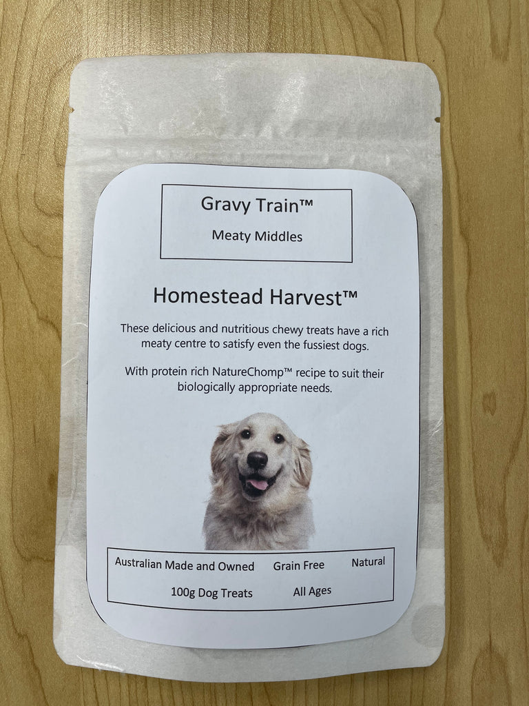 Gravy Train™ Meaty Middles Homestead Harvest™ Dog Treats 100g