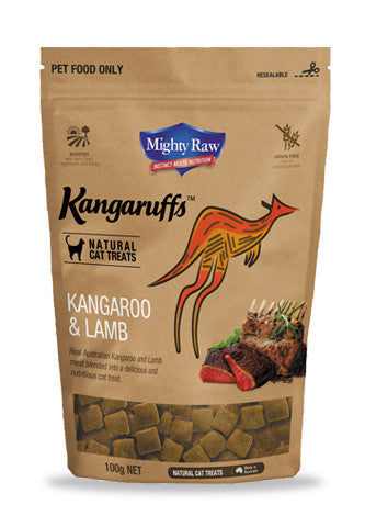 MR Kangaruffs - Kangaroo and Lamb Cat Treats 100g