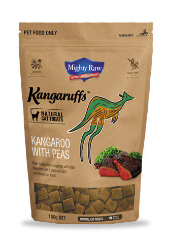 MR Kangaruffs - Kangaroo with Peas Cat Treats 100g