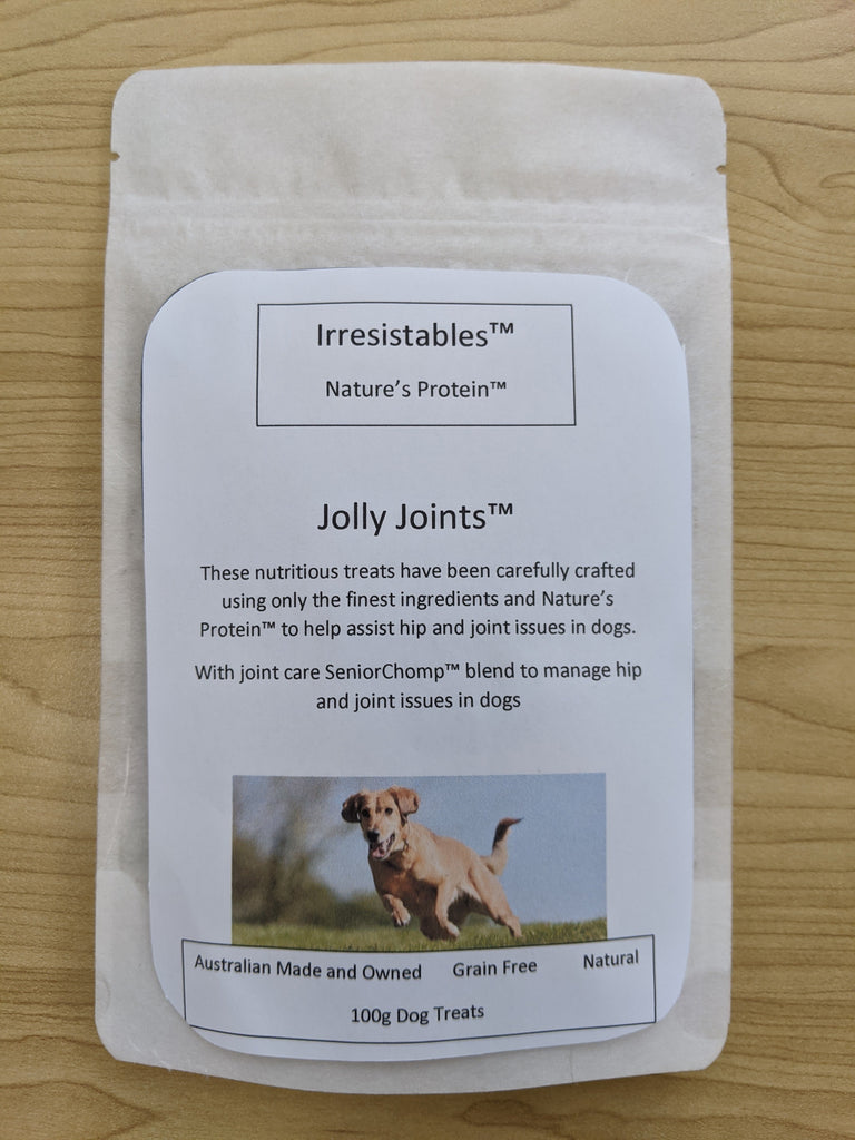 Irresistables™ Nature's Protein™ Jolly Joints™ Dog Treats 100g