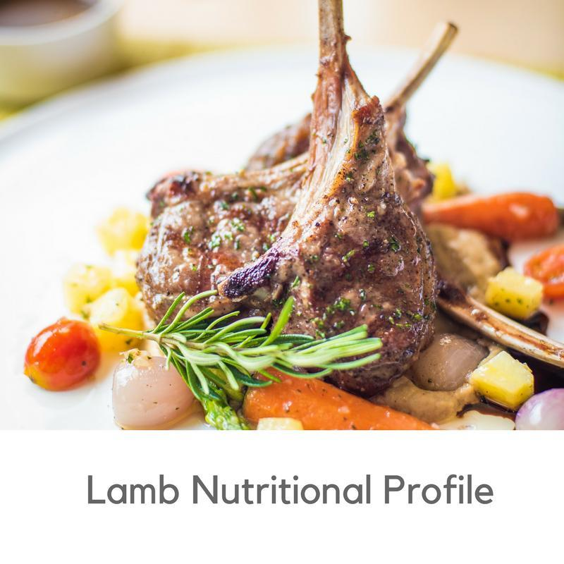 lamb nutritional profile