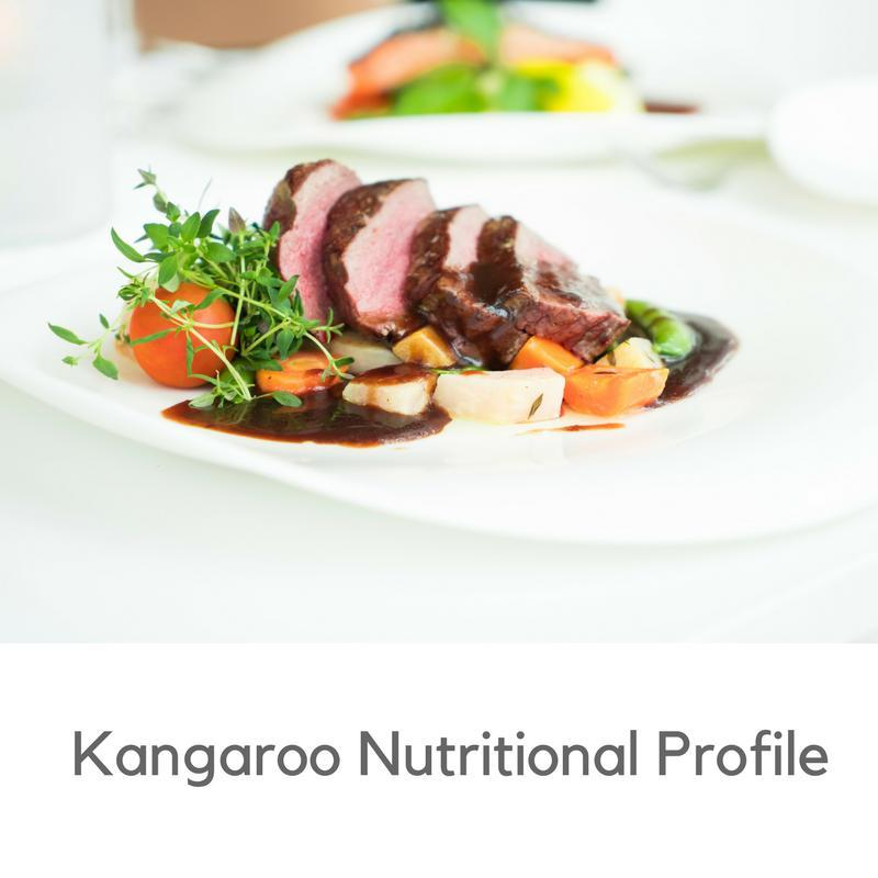kangaroo nutritional profile