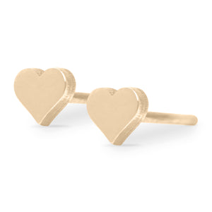 Gold Tiny Hearts Forever Earrings