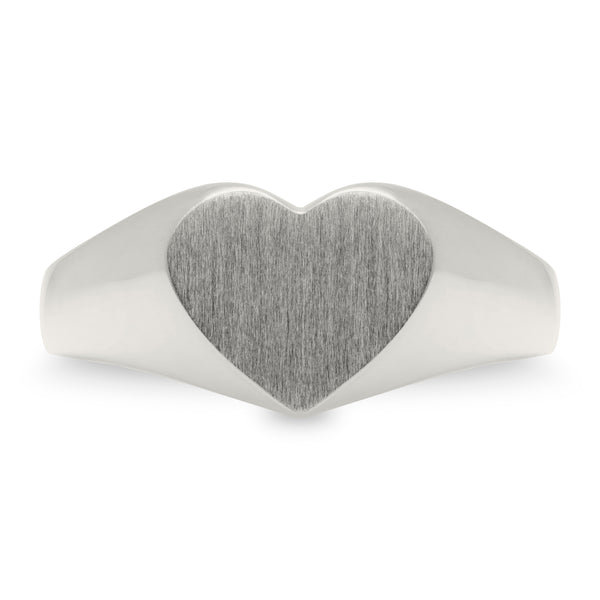 Hearts Forever Signet Ring