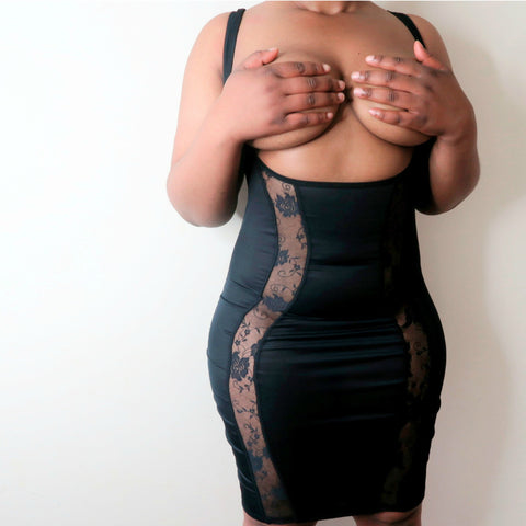 Come Get Me Bodycon Slip - Korrine Sky Intimates