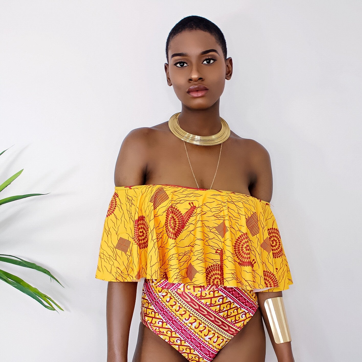 Amandla Ankara Two Piece
