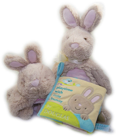 STUFFED BUNNY RABBIT FOR BABY 3-PIECE SET