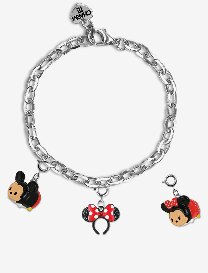 CHARM IT! ® Mickey & Minnie Charm Bracelet Gift Set