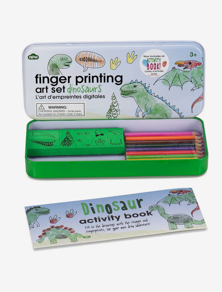 Finger Printing Art Set- Dinosaurs