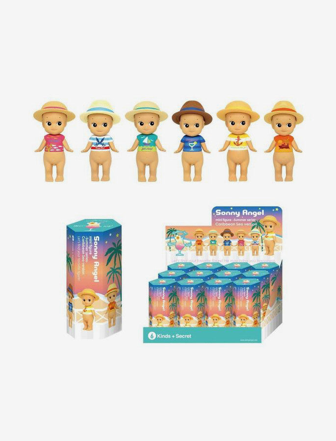 Sonny Angel Figurines Surprise Box - 2016, Caribbean Sea Limited Edition