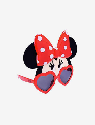Minnie Mouse Looking up Sun-Staches