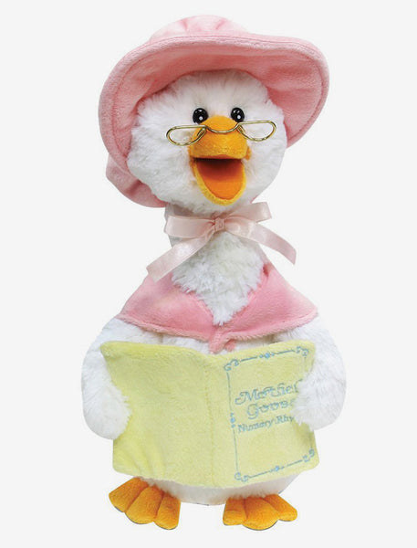 Animated Plush Mother Goose Stuffed Animal- 7 Nursery Rhymes