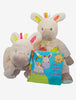 Douglas Zebra 3-pc Baby Gift set