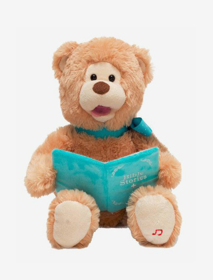 Animated Plush Bear - Bible Story Time