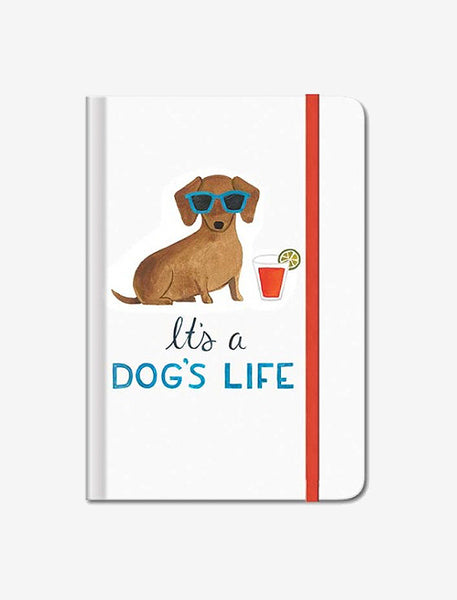 It's a dog's life - Hardback Journal