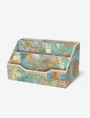 World Atlas Desk Caddy