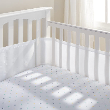 Breathable Baby- Mesh Crib Liner