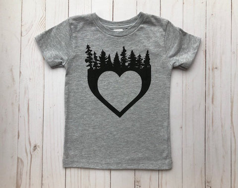 *Rcubed - Heart with Trees T-shirt