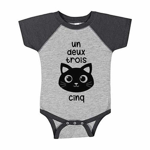 "*Bean & Boo- ""cat cinq"" Onsie"