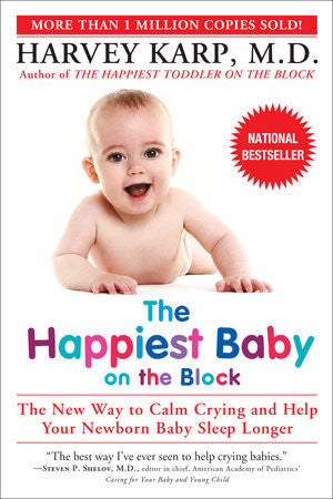 Book- The Happiest Baby on the Block- Harvey Karp