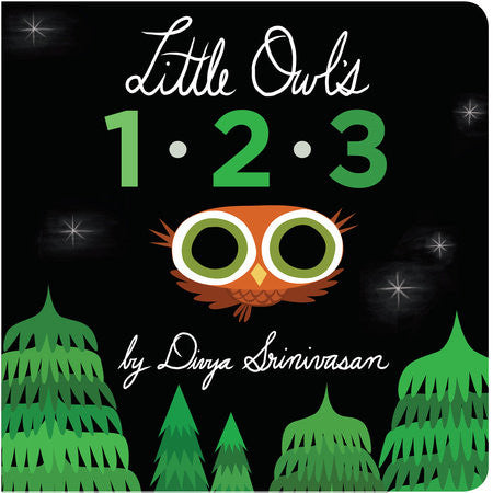 Board Book- Little Owls 1 2 3- Divya Srinivasan