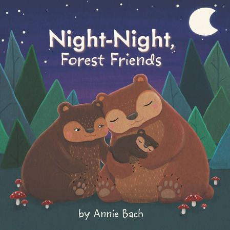 Board Book- Night Night Forest Friends- Annie Bach
