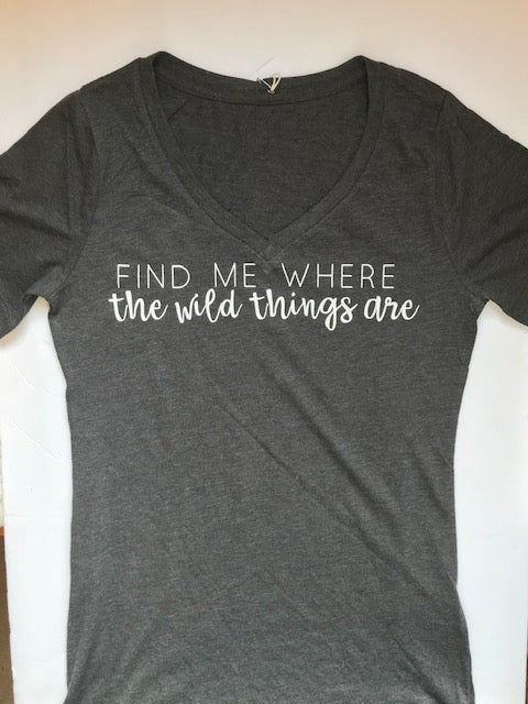 *Modern Mini's Apparel - Wild Things - Women's T-shirt