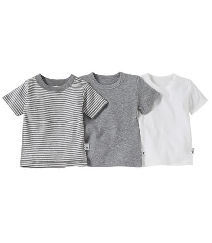 Burt's Bees Baby - Set of 3 Multi Short Sleeve Tee's