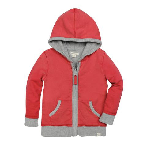 Burt's Bees Baby - Reversible French Terry Hoodie