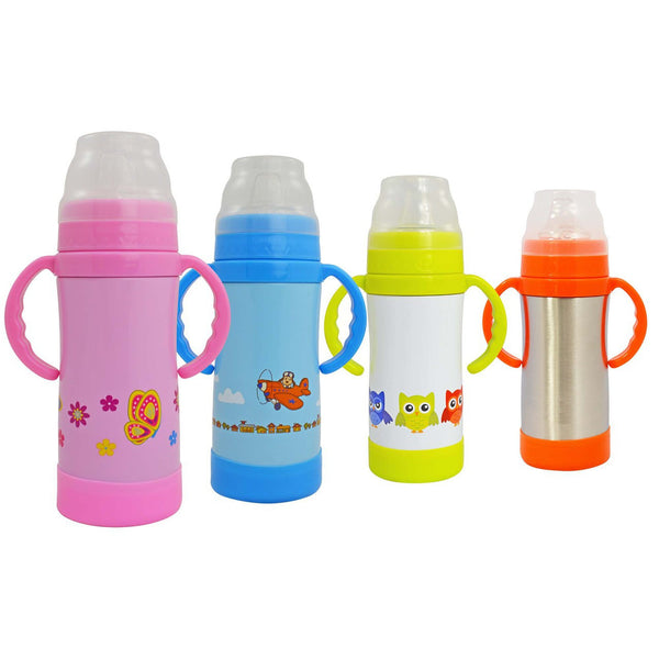 Eco Vessel- Insulated Stainless Steel Sippy Bottle 10 oz