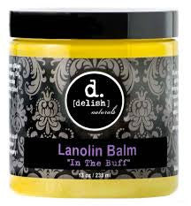 Delish Naturals Body Care - 100% Pure Lanolin Balm