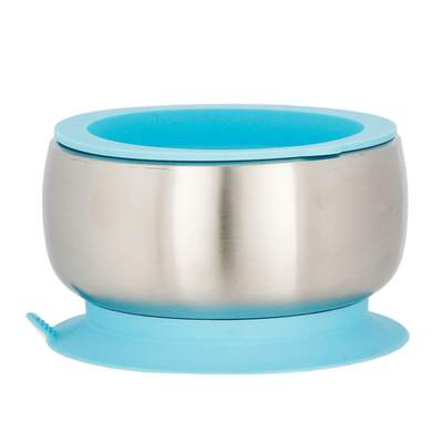 Avanchy- Stay Put Baby Stainless Suction Bowl