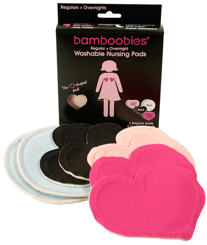 Bamboobies- Washable Nursing Pads Multipack