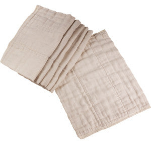 OsoCozy- Indian Unbleached Infant Prefolds
