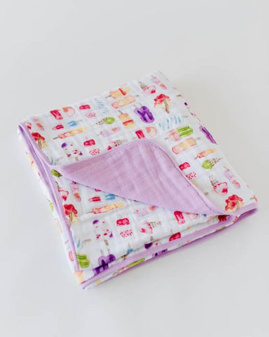 Little Unicorn- Cotton Muslin Quilt
