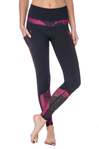 James Scuba Crop Legging Tigua