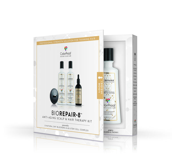 BioRepair-8™ Anti-Aging Scalp & Hair Therapy System