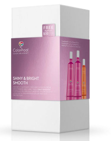 CrazySmooth® Shiny & Bright Moisture Kit