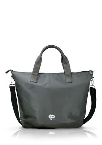 Luxe Grey Shoulder Bag