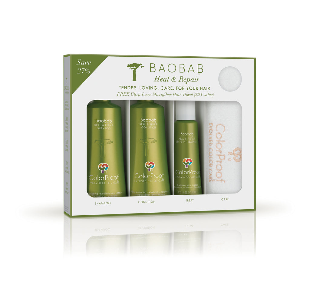 Baobab Heal & Repair® Microfiber Towel Kit