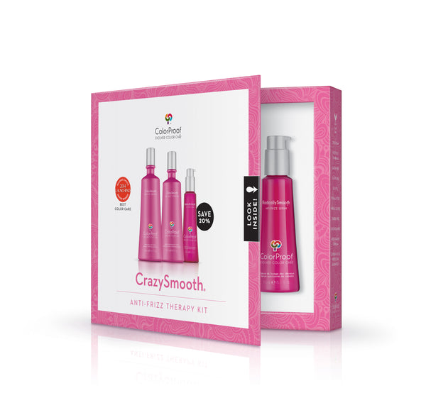 CrazySmooth® Anti-Frizz Therapy Kit