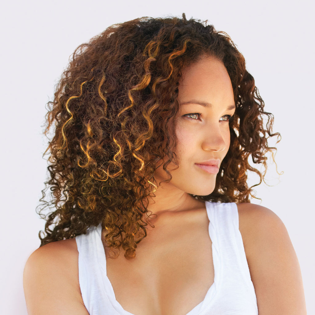 Defined curls after using TruCurl Curl Perfecting Shampoo