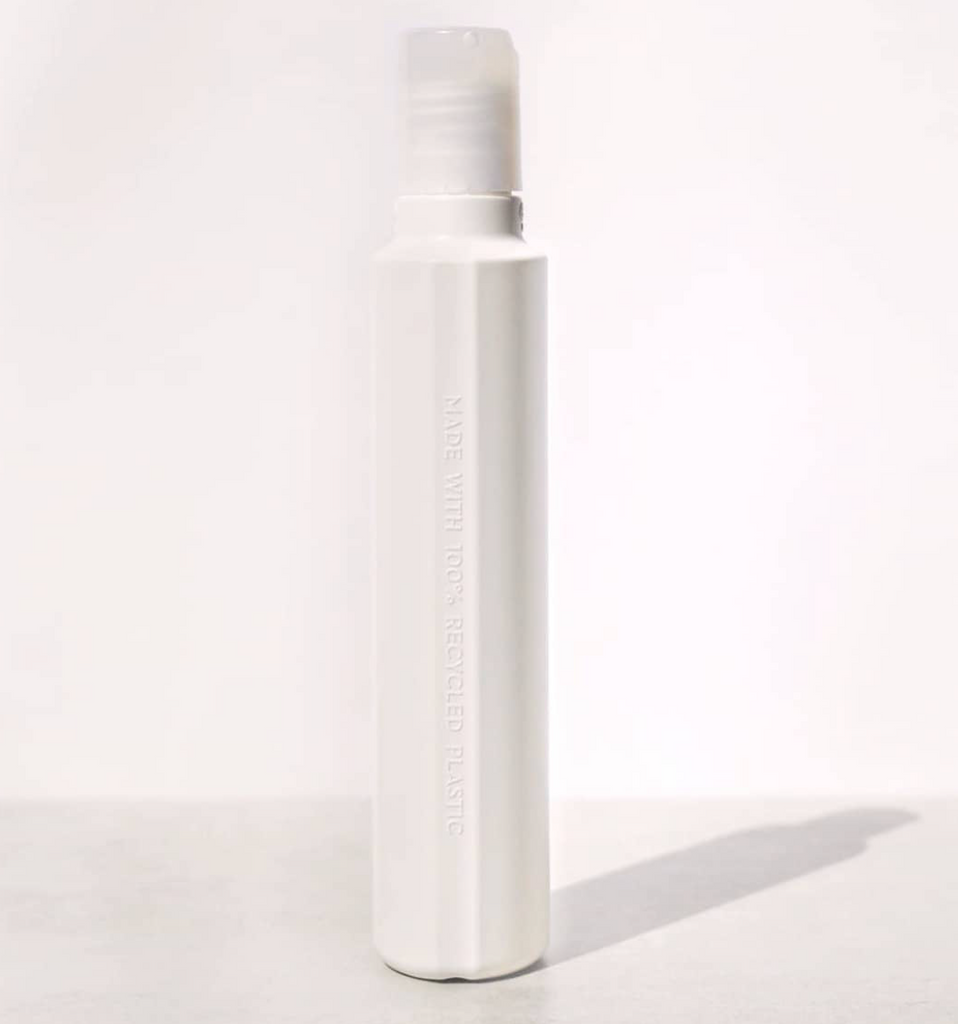 SuperSheer bottles are packaged in 100% recycled plastic.