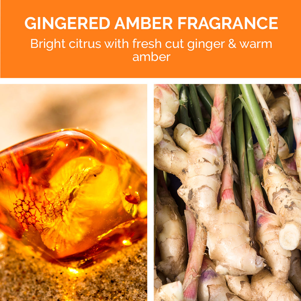 SuperRich Moisture Shampoo has a gingered amber fragrance.