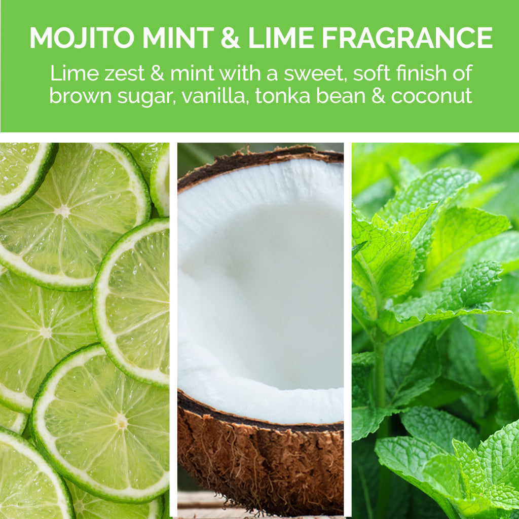 SuperRich Moisture Conditioner has a mojito mint fragrance.