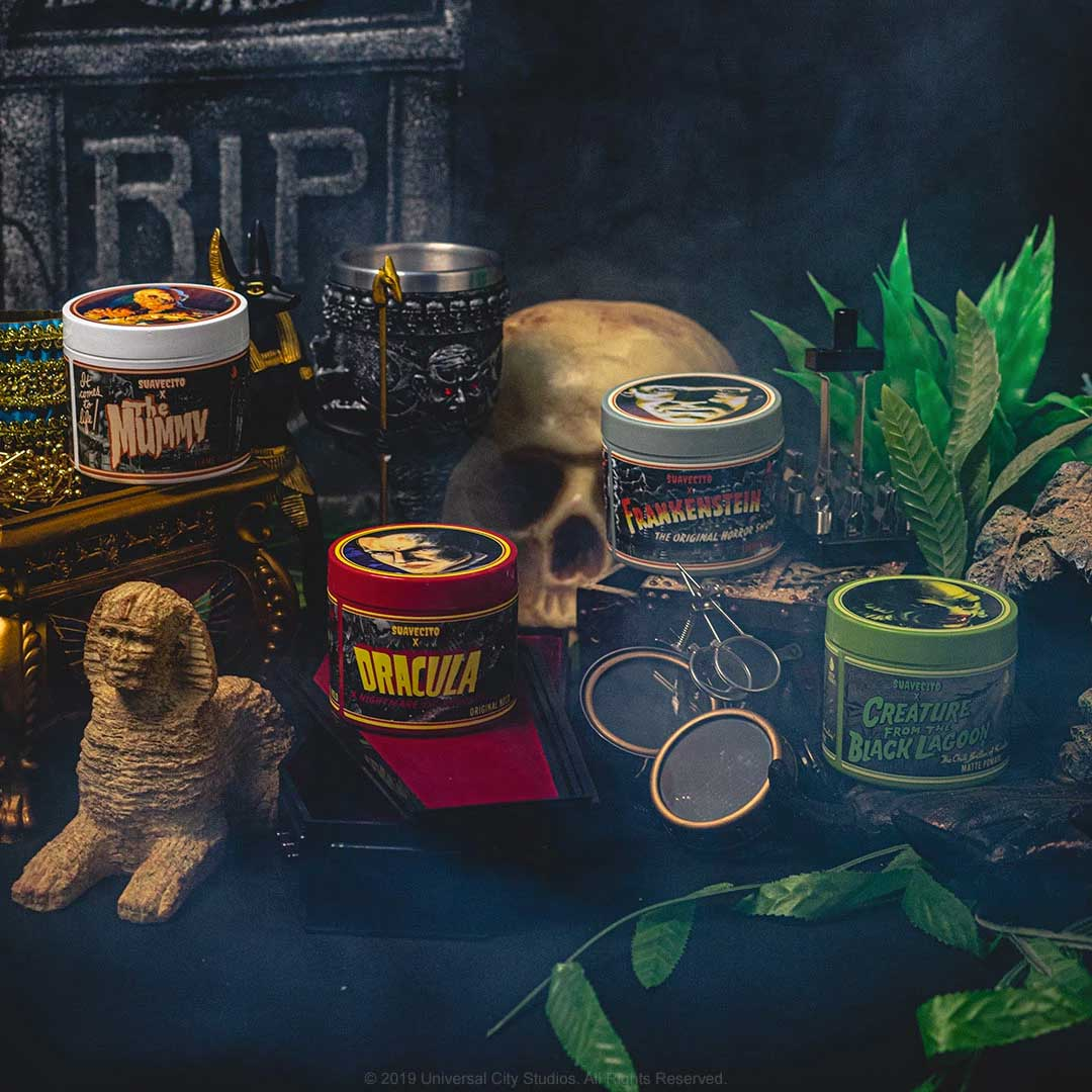Suavecito X Universal Monsters Ya Disponible
