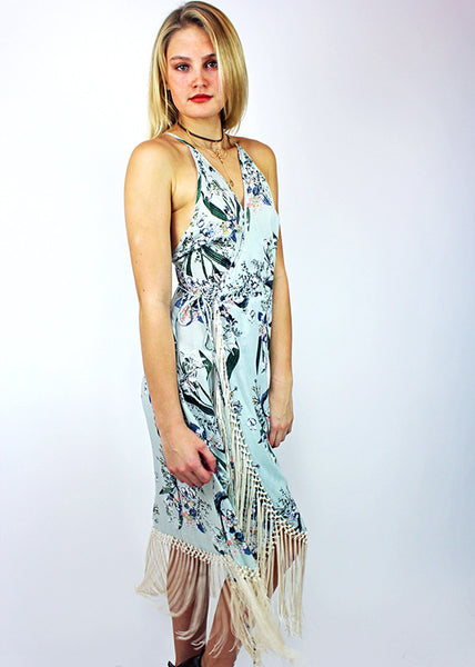 Zinnia Wrap Dress