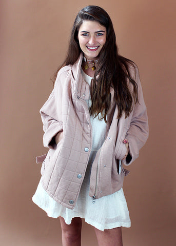 Rose Oversized Knit Jacket