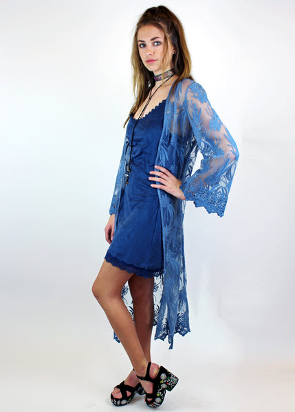 Lace Duster - MEDIUM